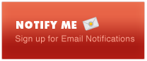 Notify Me - Sign up for Email Notifications