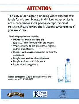 Drinking Water Notice