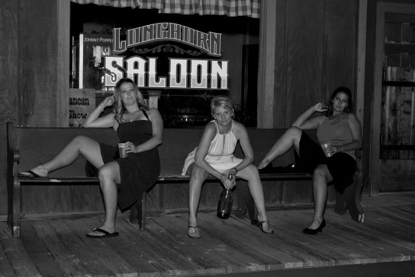 Girls at the Saloon
